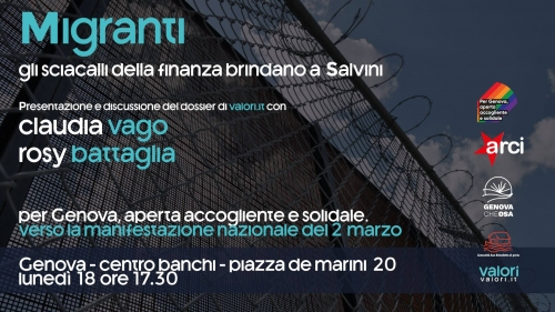 Migranti. Gli sciacalli della finanza brindano a Salvini